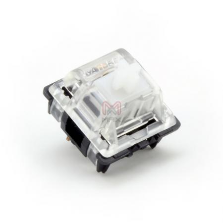 Gateron KS Clear Key Switch (Linear 35g)