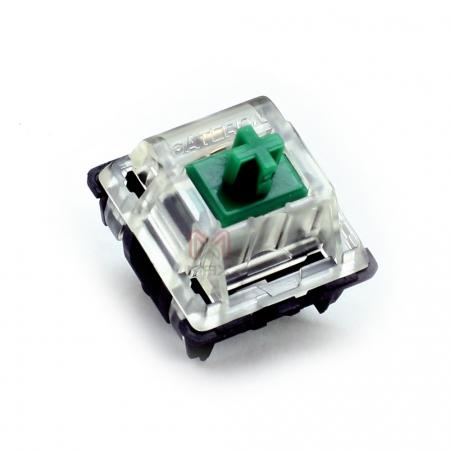 Gateron KS Green Key Switch (Tactile & Clicky 80g)