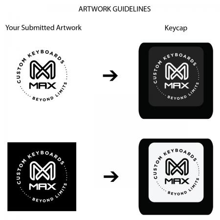 Max Keyboard Backlit Keycap Artwork Submission Guidelines