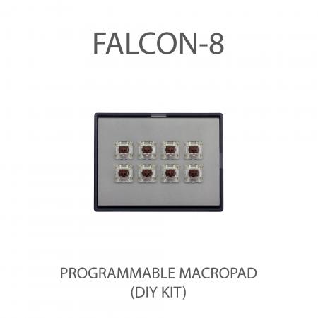 MAX FALCON-8 RGB Programmable mini macropad mechanical keyboard (DIY KIT)