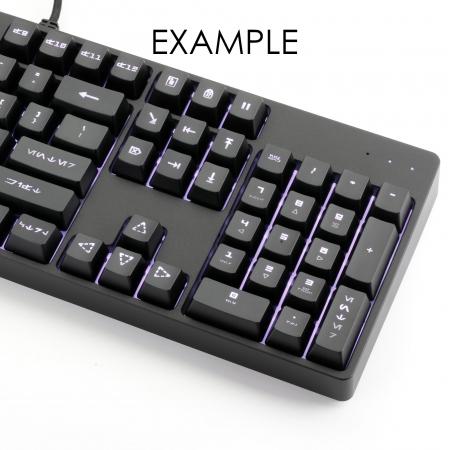 N EXAMPLE: Max Keyboard Nighthawk Z Custom Backlit Mechanical Keyboard