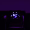 "Max Keyboard Custom R4 ""Bio Hazard"" Backlight Cherry MX Keycap"