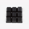 Max Keyboard Custom Black Translucent Cherry MX Blank Keycap Set for ESC, W,A,S,D or E,S,D,F and Arrow Keys